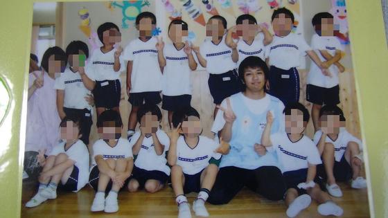 子どもたちと集合写真