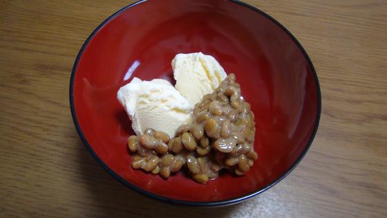 納豆アイス