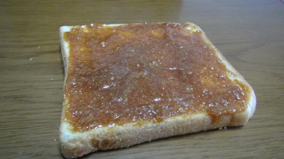 食パンにはちみつ味噌