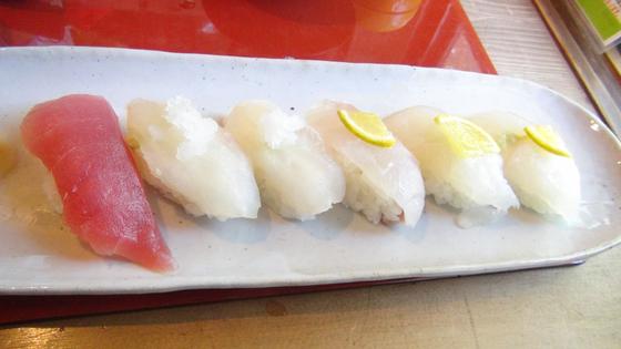 クエのお寿司