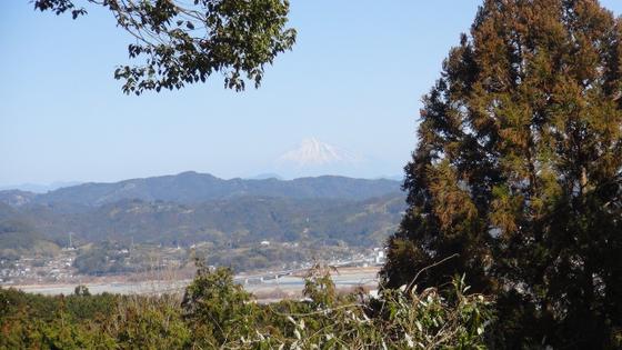 諏訪原城富士山3