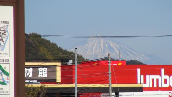 蓬莱橋富士山1