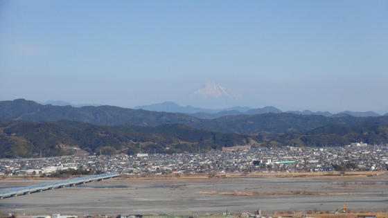 牧之原公園富士山2
