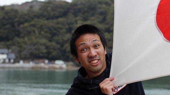 すけぞぉ×日本国旗