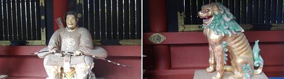 東照宮飾り物