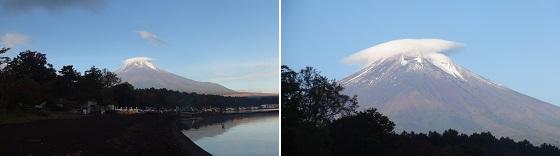 富士山×山中湖
